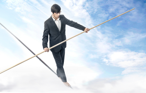 How Your Health is Like Walking on a Tightrope