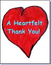 Heartfelt Thank You