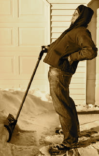 Snow Removal Tips to Prevent Back Injuries